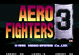 Aero Fighters 3 / Sonic Wings 3