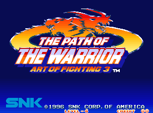 Art of Fighting 3: The Path of the Warrior / Art of Fighting: Ryuuko no Ken Gaiden